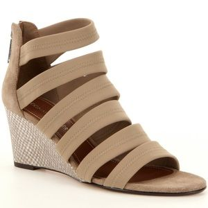 Donald J. Pliner strappy wedge sandal